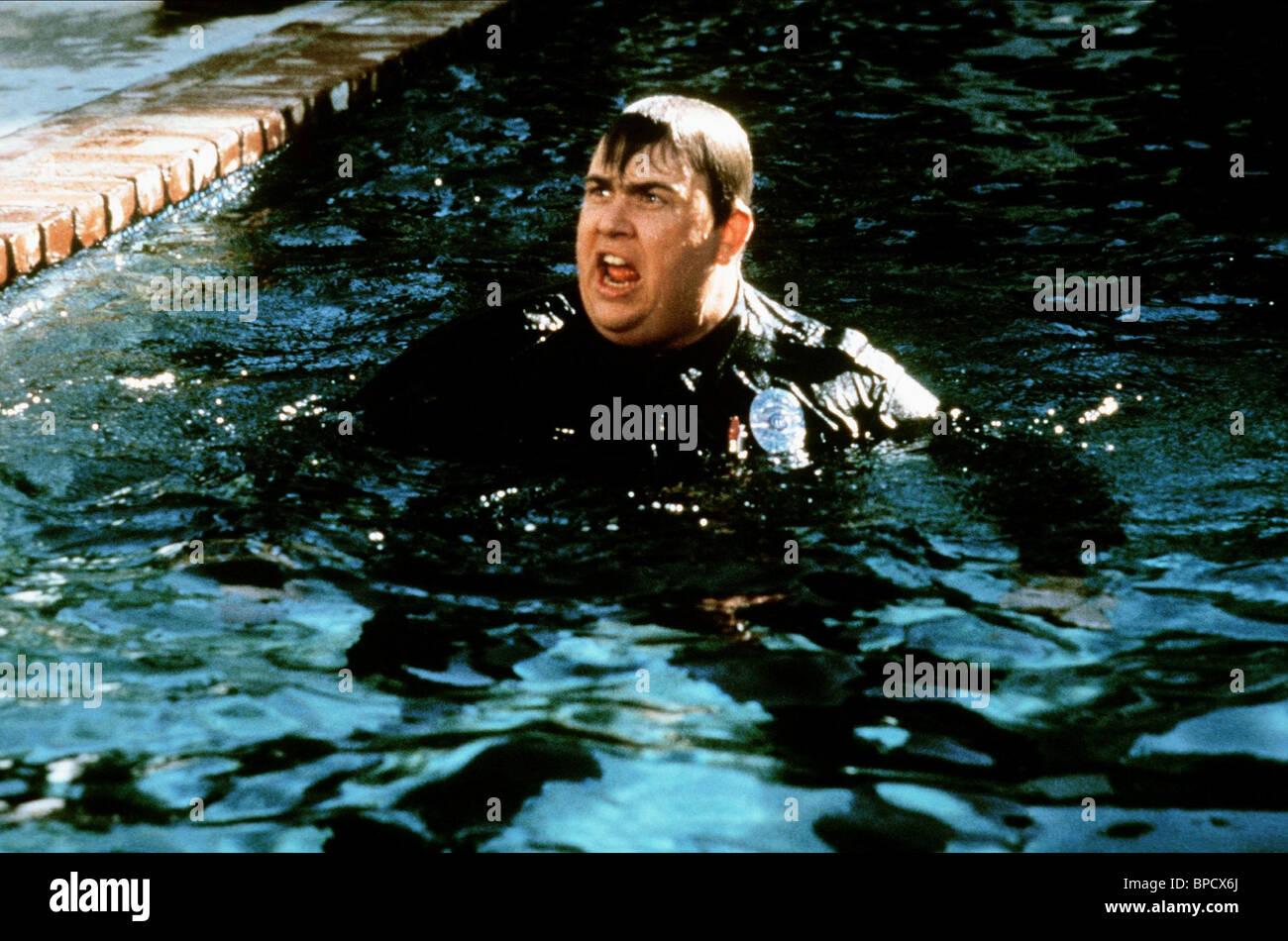 JOHN CANDY armato e pericoloso (1986) Immagini Stock