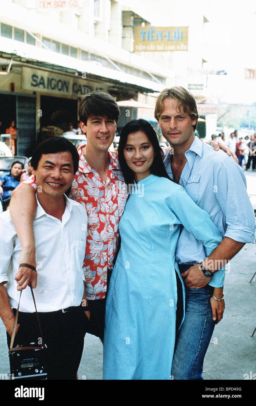In scena con CU BA NGUYEN, ALAN RUCK, ROSALIND CHAO, sparatutto, 1988 Immagini Stock