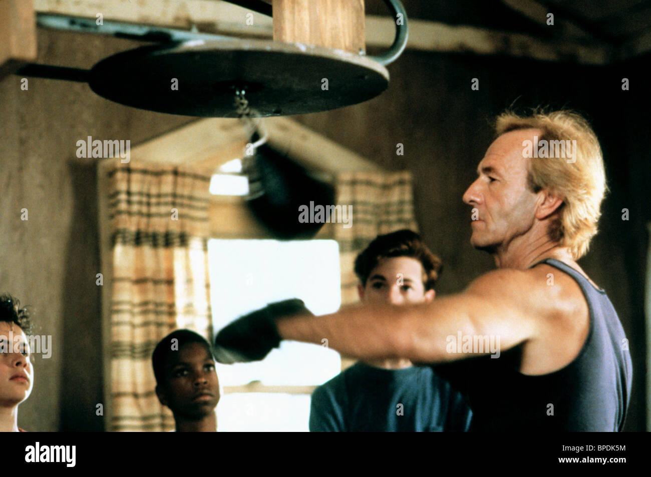 PAUL HOGAN QUASI UN ANGELO (1990) Immagini Stock