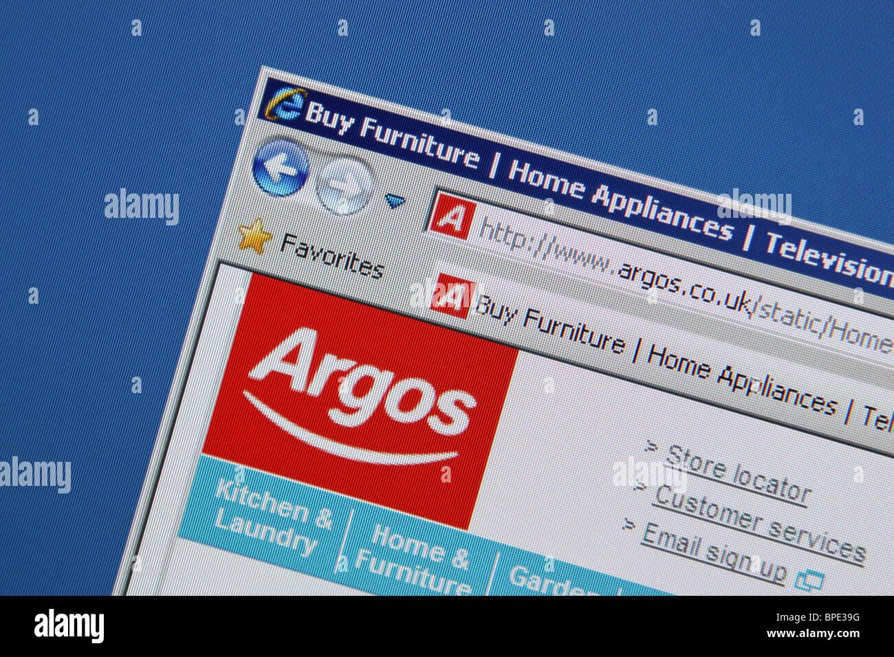 Argos valore di catalogo shopping risparmio Immagini Stock