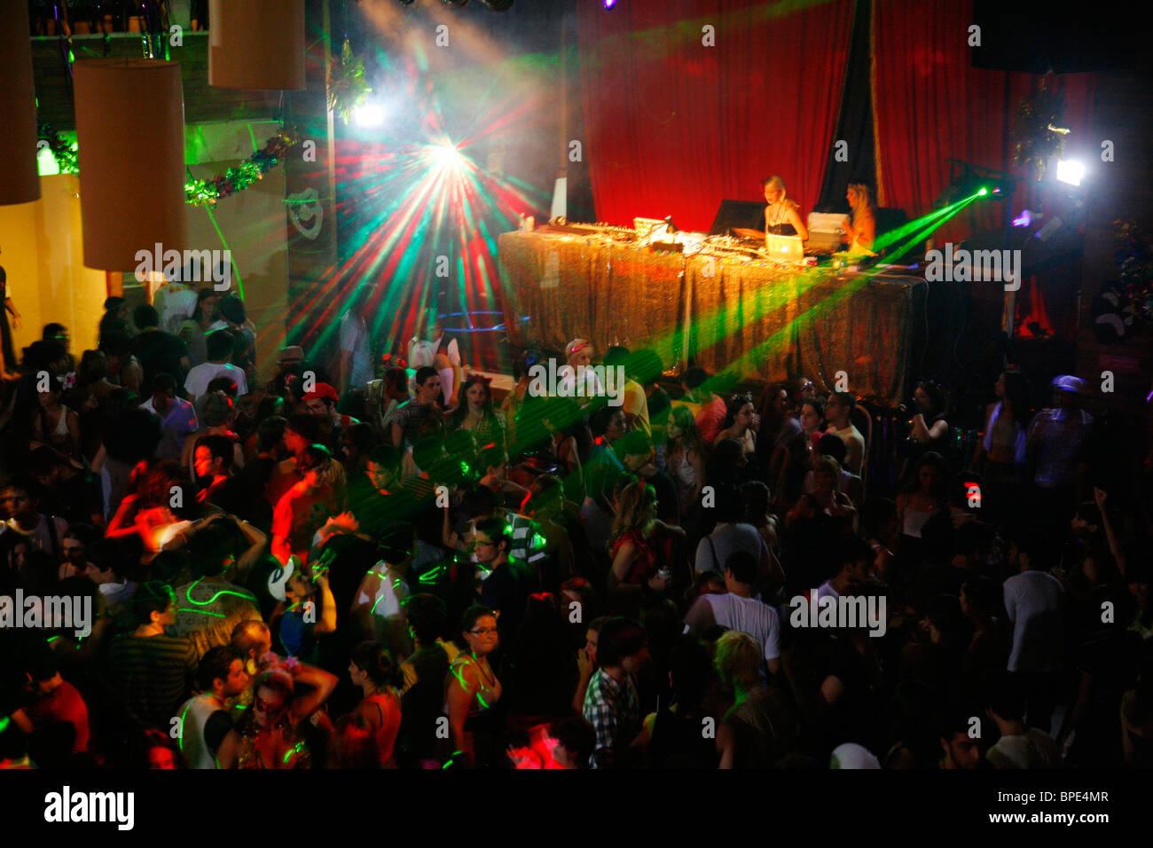 La Asa Branca night club nella zona di Lapa, Rio de Janeiro, Brasile. Immagini Stock