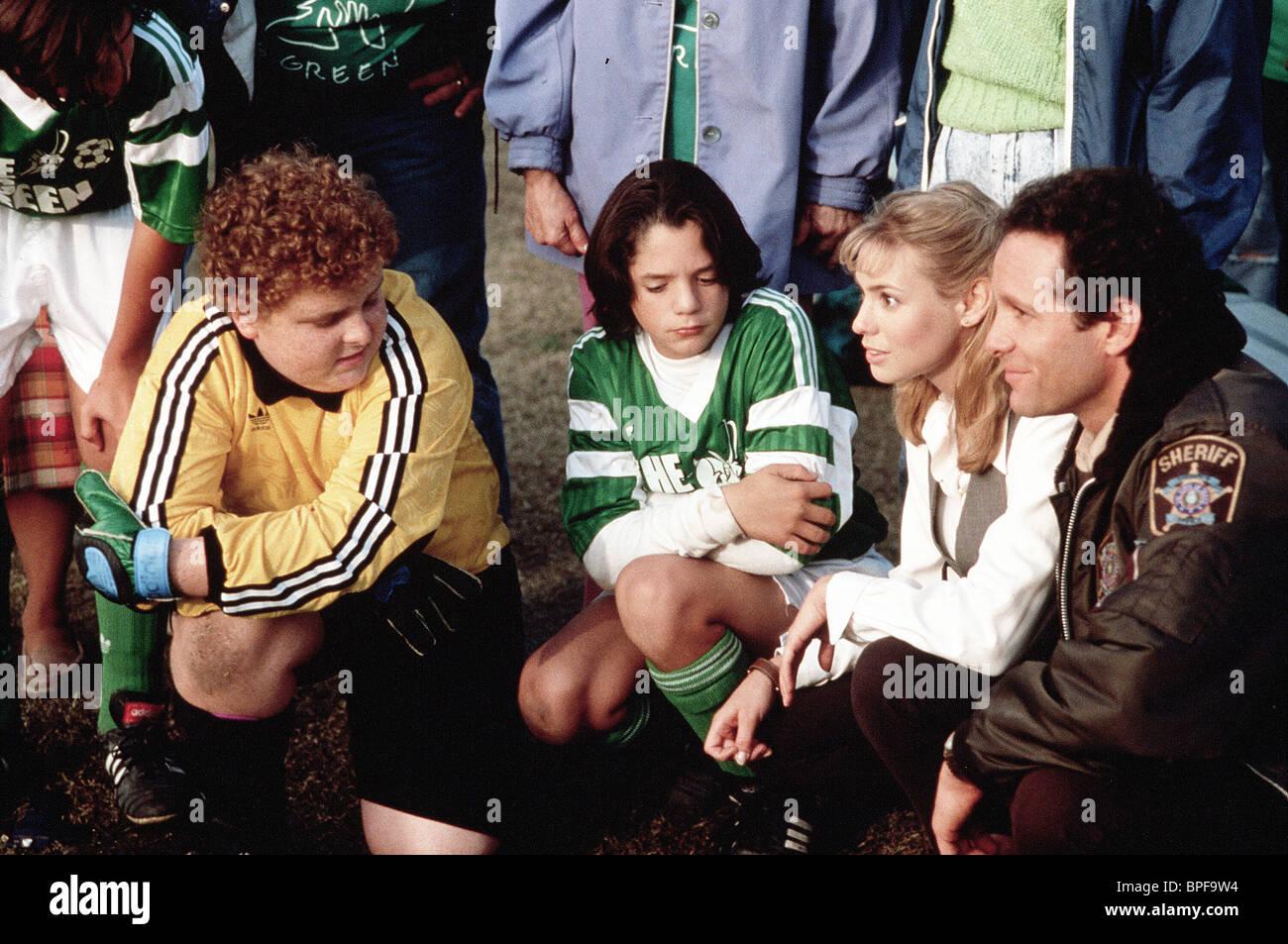 PATRICK RENNA, BILLY L. SULLIVAN, Olivia D'ABO, Steve Guttenberg, il grande verde, 1995 Immagini Stock