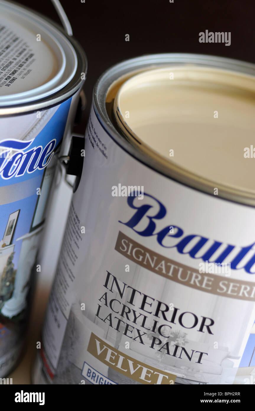 Lattice acrilico vernice Immagini Stock