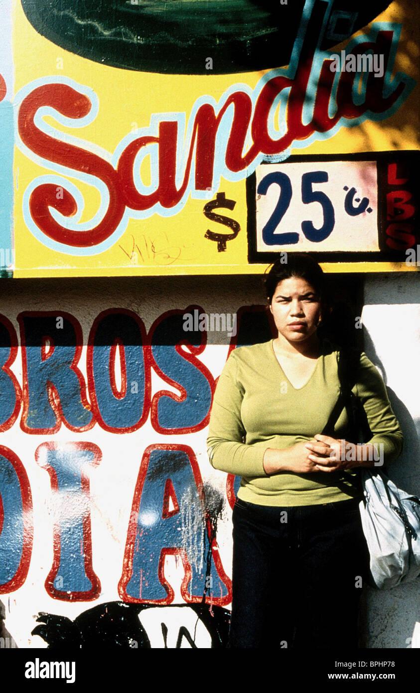 AMERICA FERRERA le donne reali hanno curve (2002) Immagini Stock