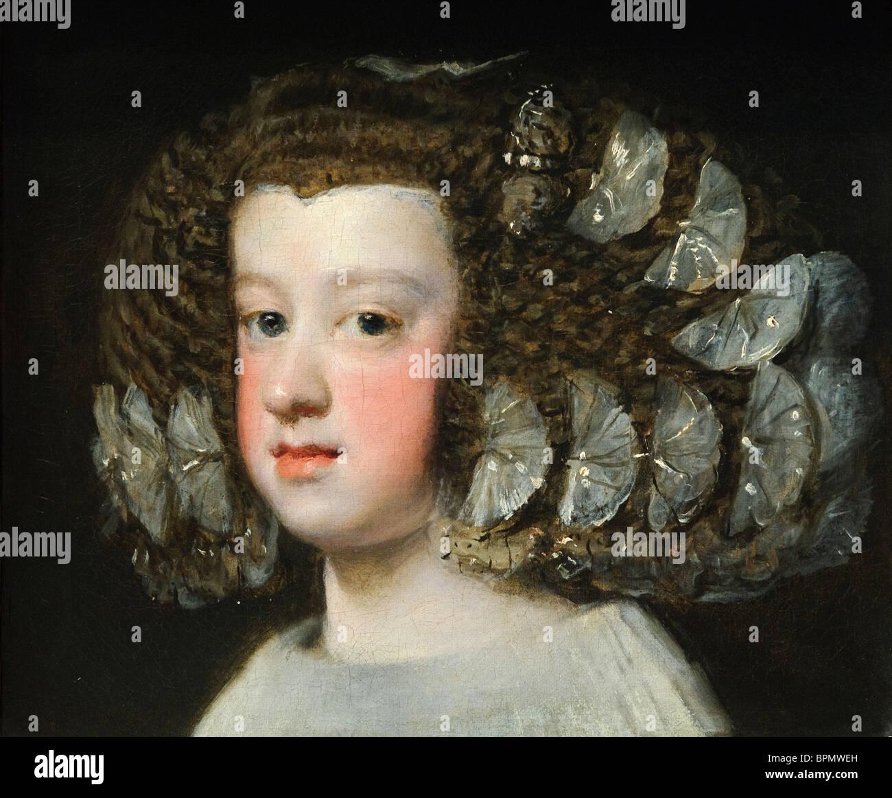 María Teresa (1638-1683), Infanta di Spagna, Velázquez Immagini Stock