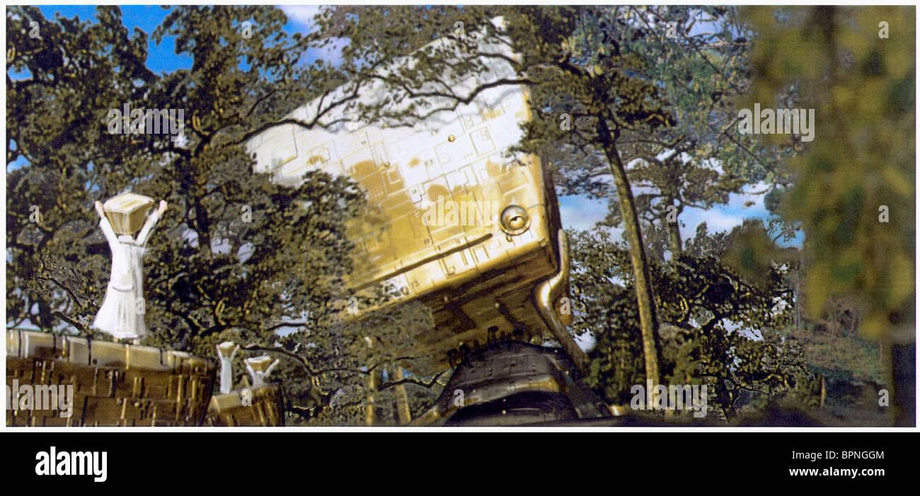 Concetto grafica la guida del hitchhiker alla galassia (2005) Immagini Stock