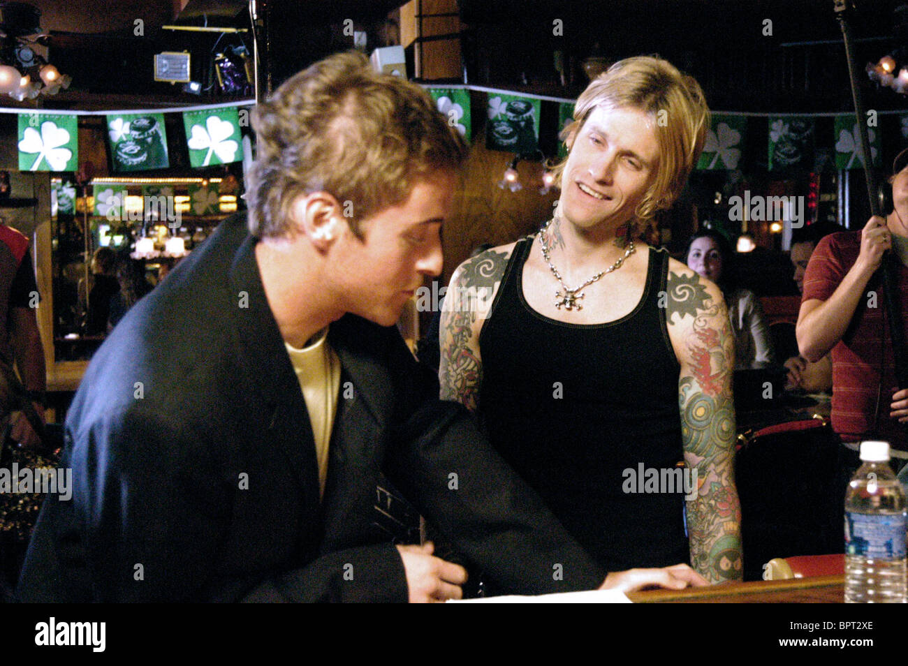 JASON BARRY ancora alla vita; (2007) Immagini Stock