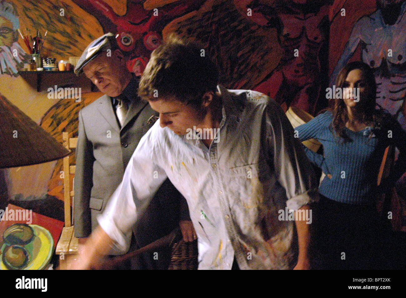 JASON BARRY & PRIMAEXCEL ancora alla vita; (2007) Immagini Stock