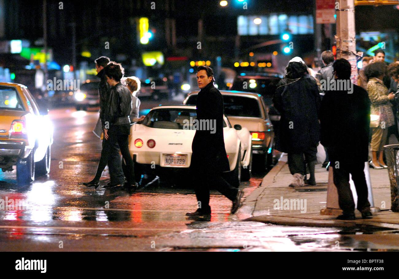 JOAQUIN PHOENIX siamo proprio la notte (2007) Immagini Stock
