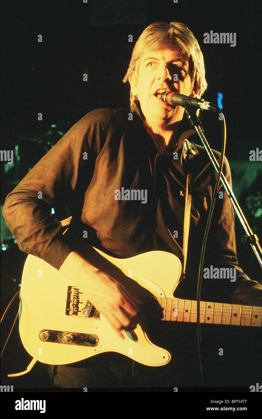 NICK LOWE cantante (1984) Immagini Stock