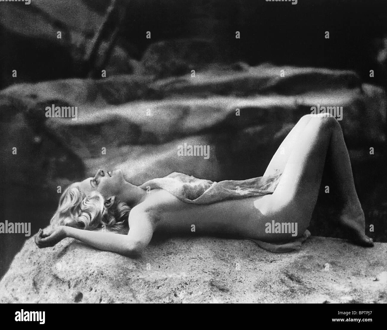JEAN HARLOW ATTRICE (1931) Immagini Stock