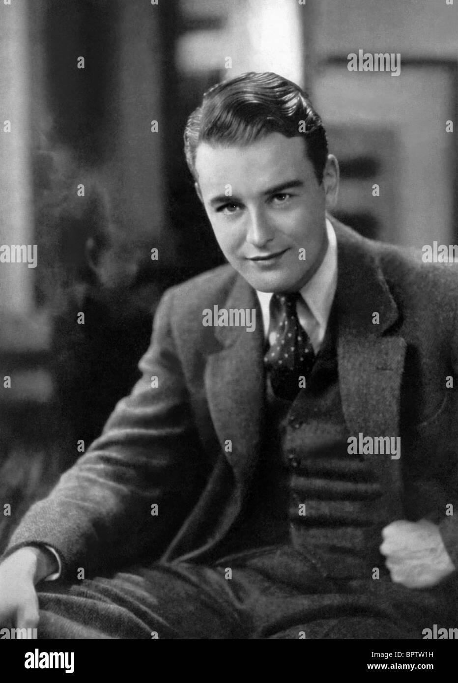 LEW AYRES attore (1931) Immagini Stock