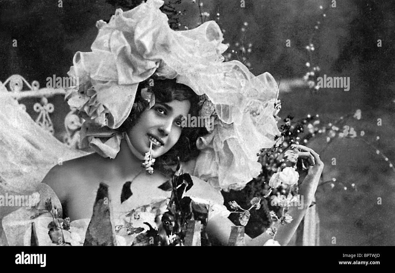 Mistinguette attrice (1910) Immagini Stock