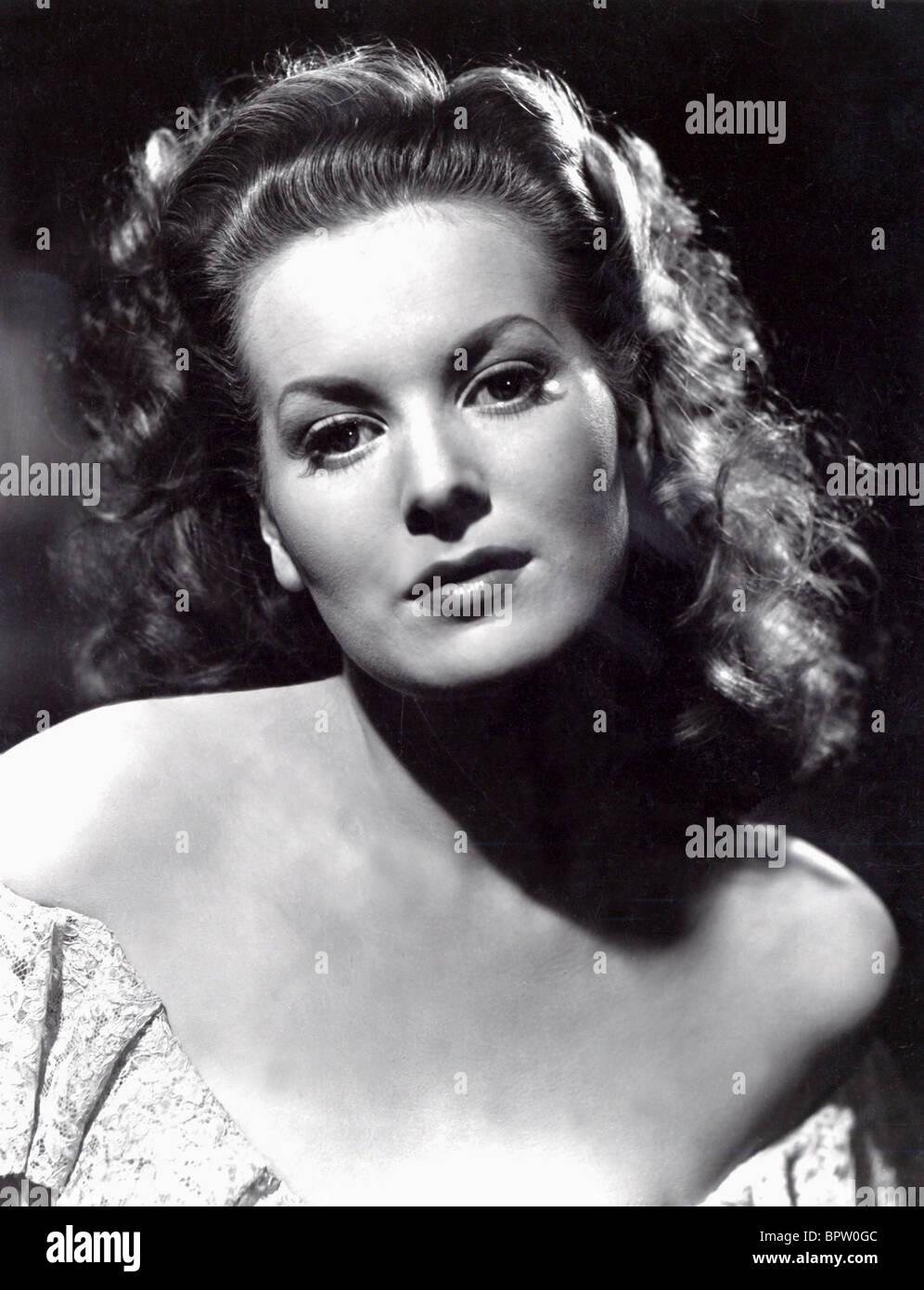 MAUREEN O'Hara attrice (1940) Immagini Stock
