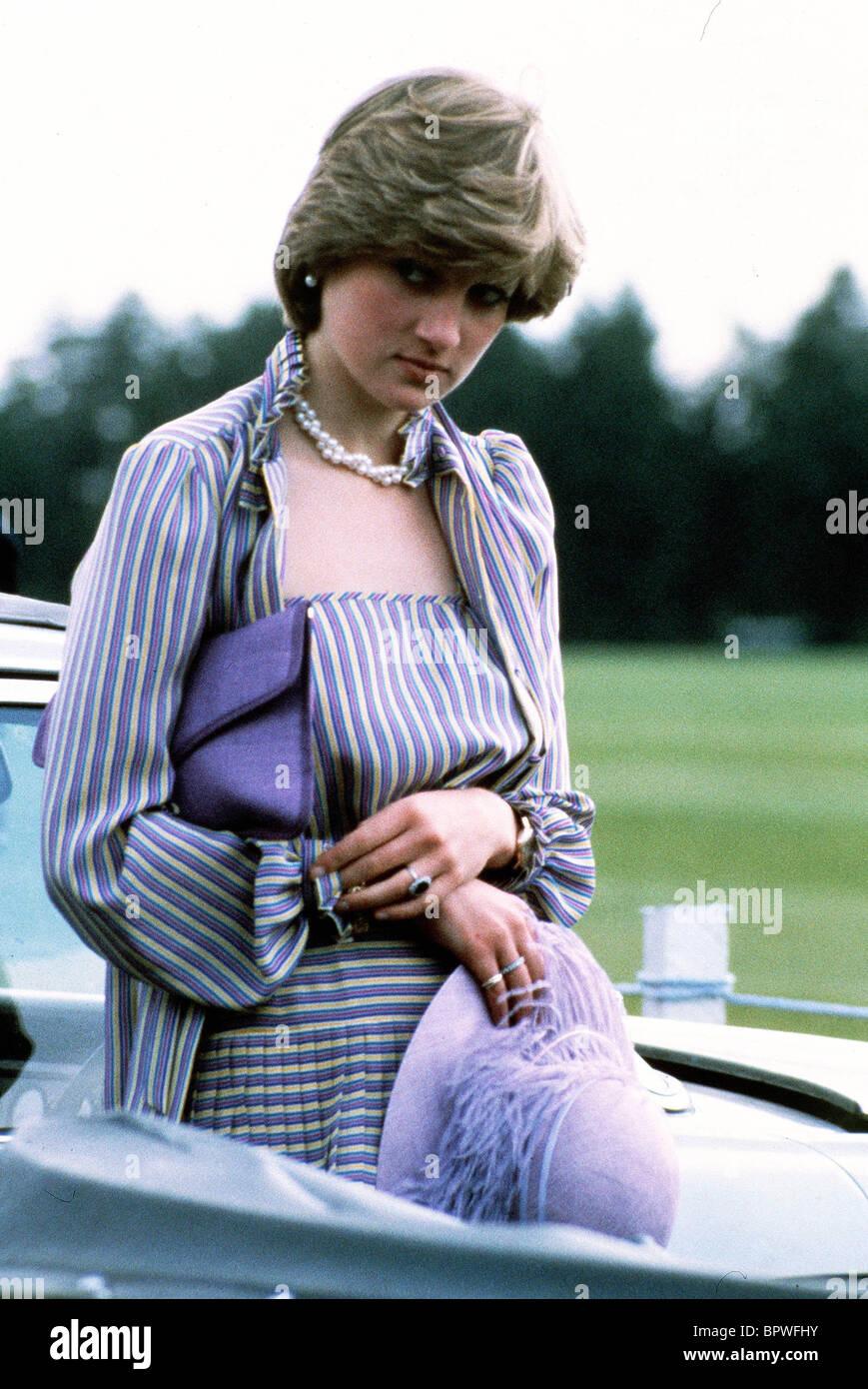 La principessa Diana, principessa del Galles, 01 giugno 1981 Immagini Stock