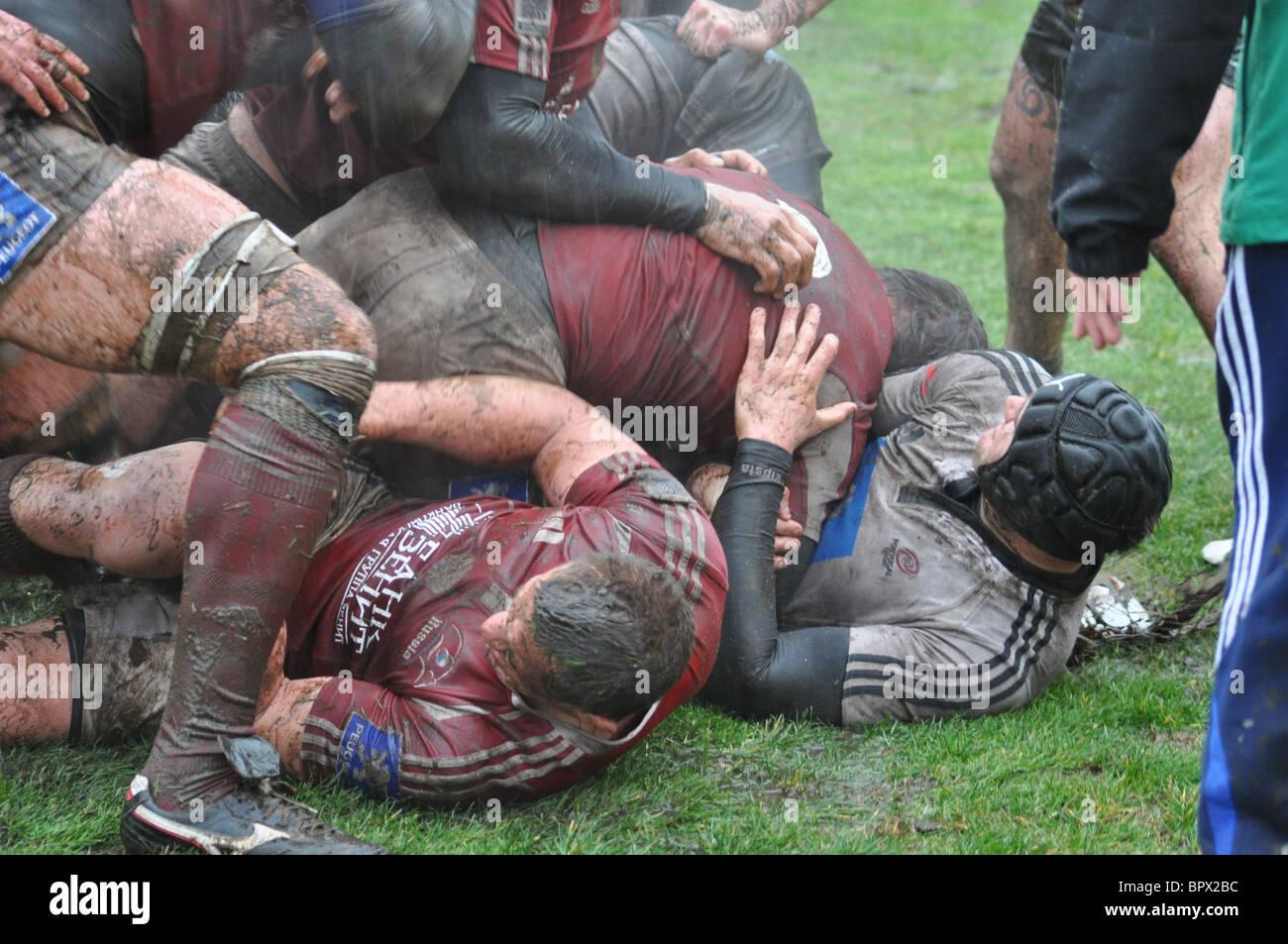 Le nazioni europee Cup partita di rugby: Russia 14 - 10 Portogallo Immagini Stock