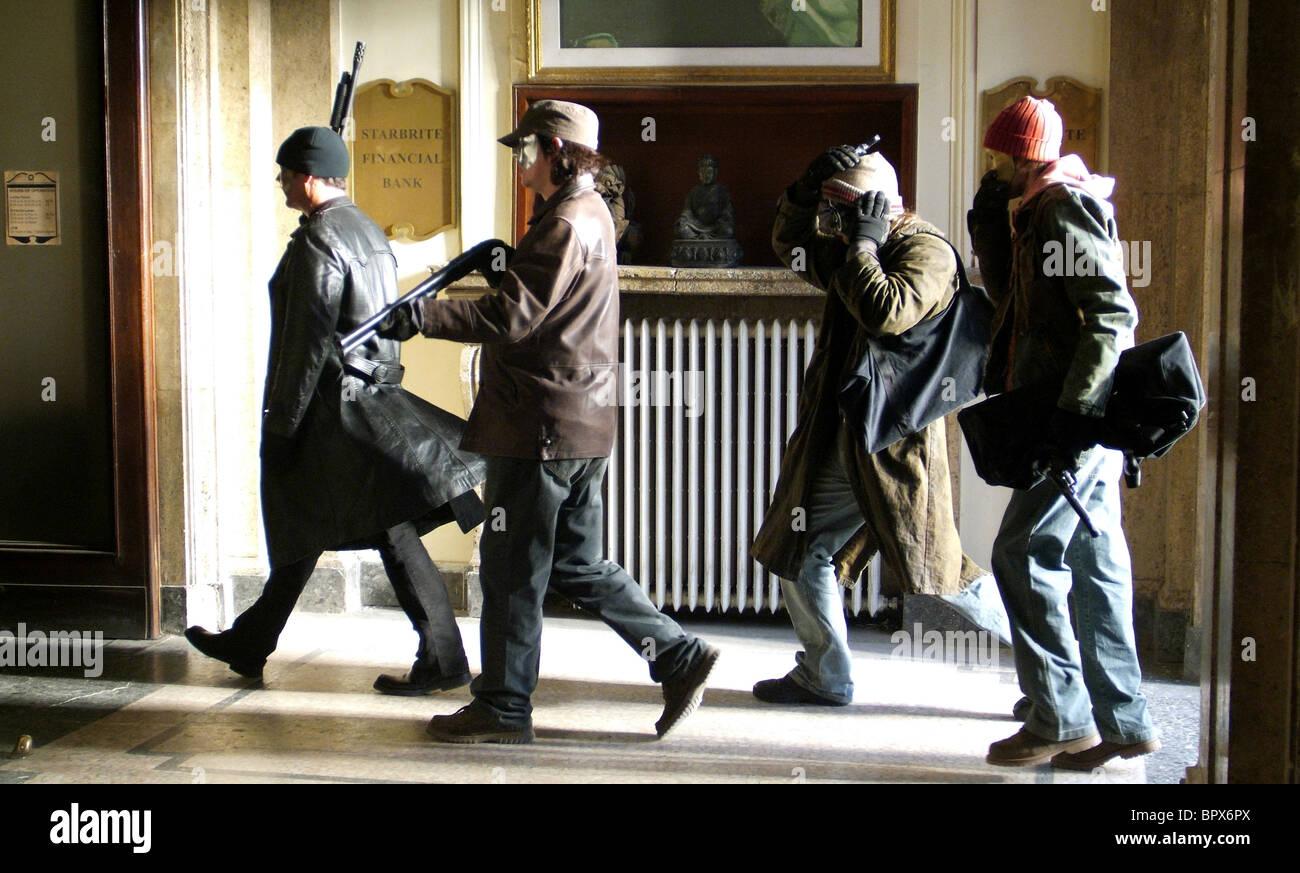 Armati eroe BANKROBBERS voluto (2008) Immagini Stock