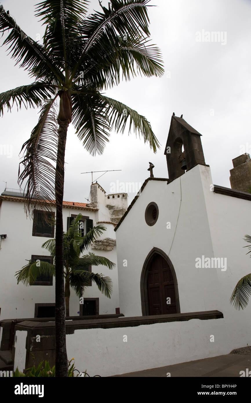 Capela do Corpo Santo - Funchal - Madeira Immagini Stock