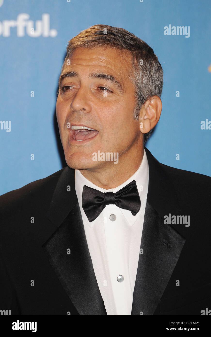 GEORGE CLOONEY - attore statunitense nel mese di agosto 2010. Foto di Jeffrey Mayer Immagini Stock