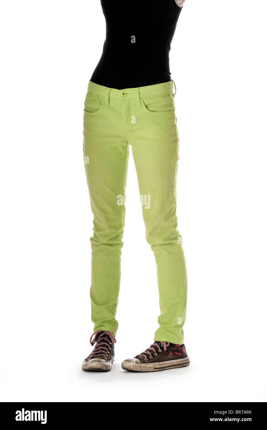 Jeans Slim 26x32 Nuovo con etichette ragazze adolescenti Donne, (quella dei.