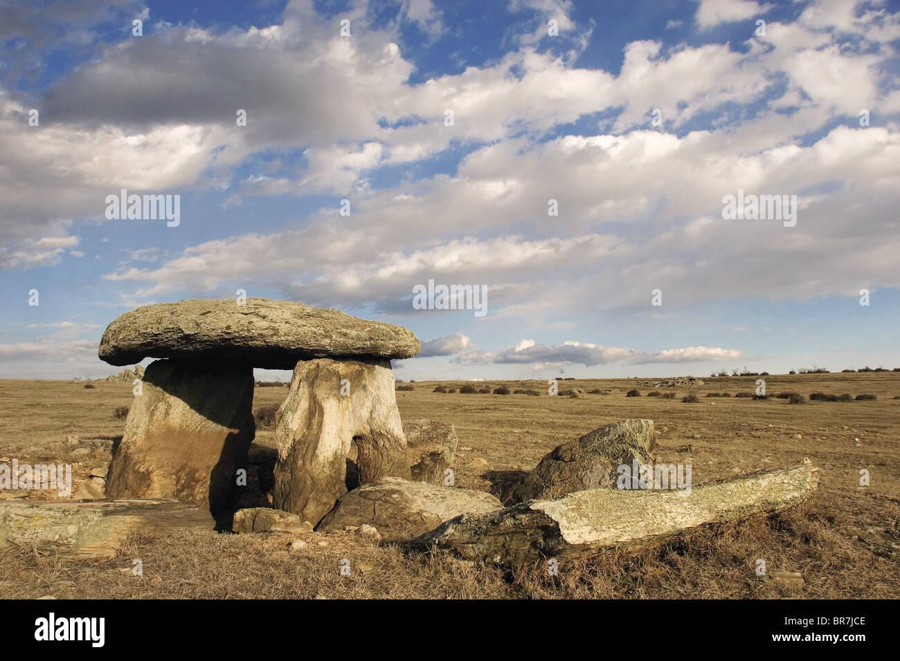 Antico dolmen nella Tracia turca Immagini Stock