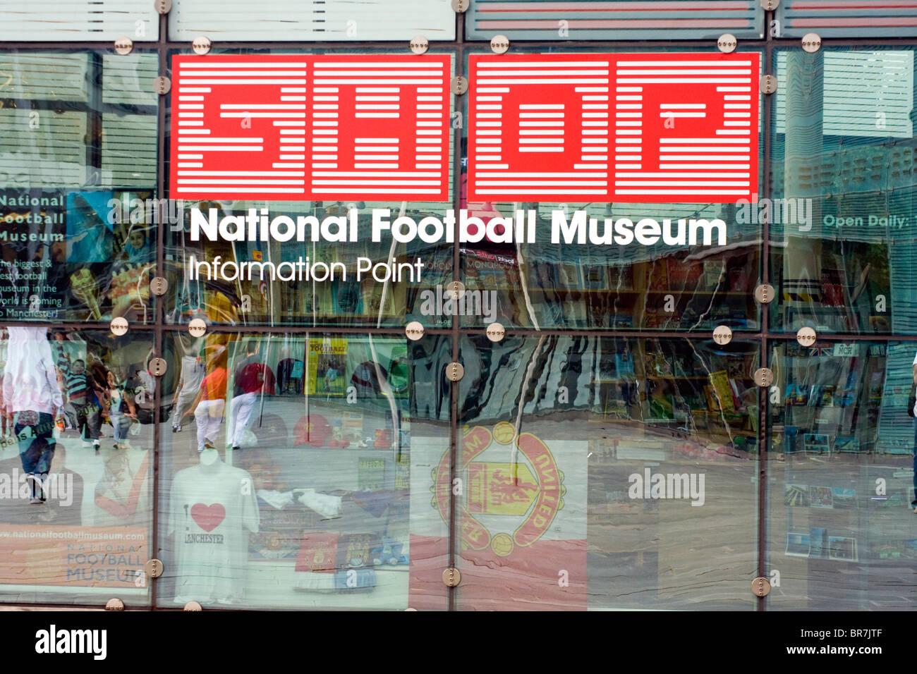 3f1baa6f2e Museo Nazionale del Calcio Shop, Urbis, Manchester Foto & Immagine ...