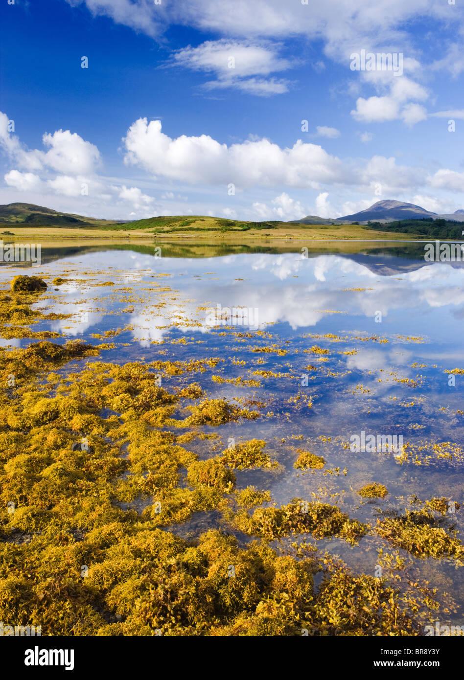 Loch Don, Lochdon, Isle of Mull, Argyll, Scotland, Regno Unito. Immagini Stock