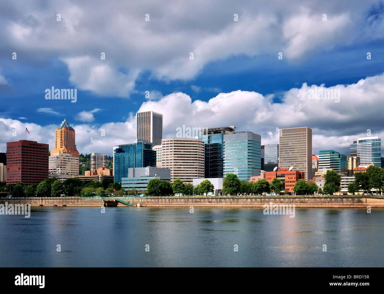 Portland, Oregon skyline. Immagini Stock