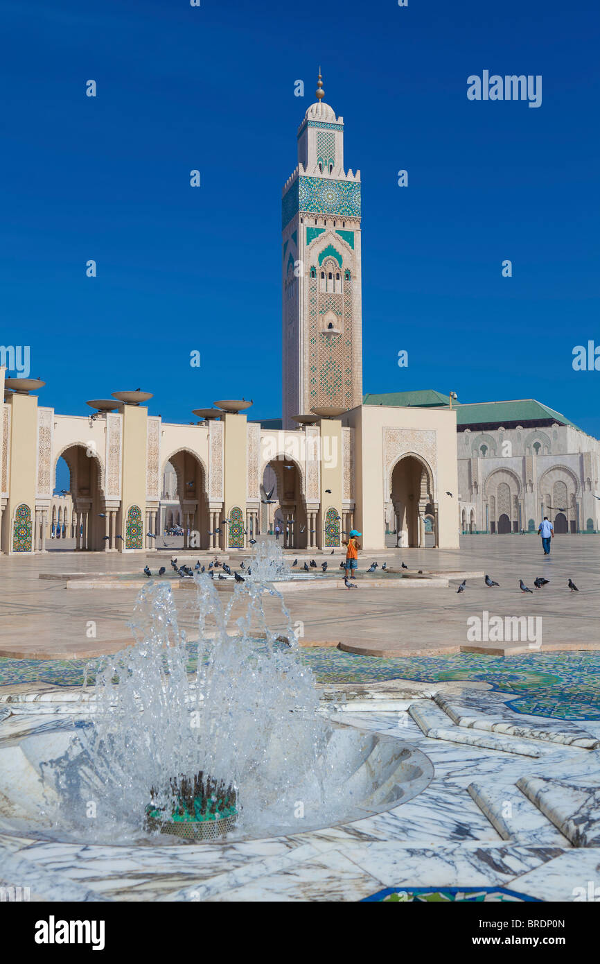 Moschea Hassan II, Casablanca, Marocco Immagini Stock