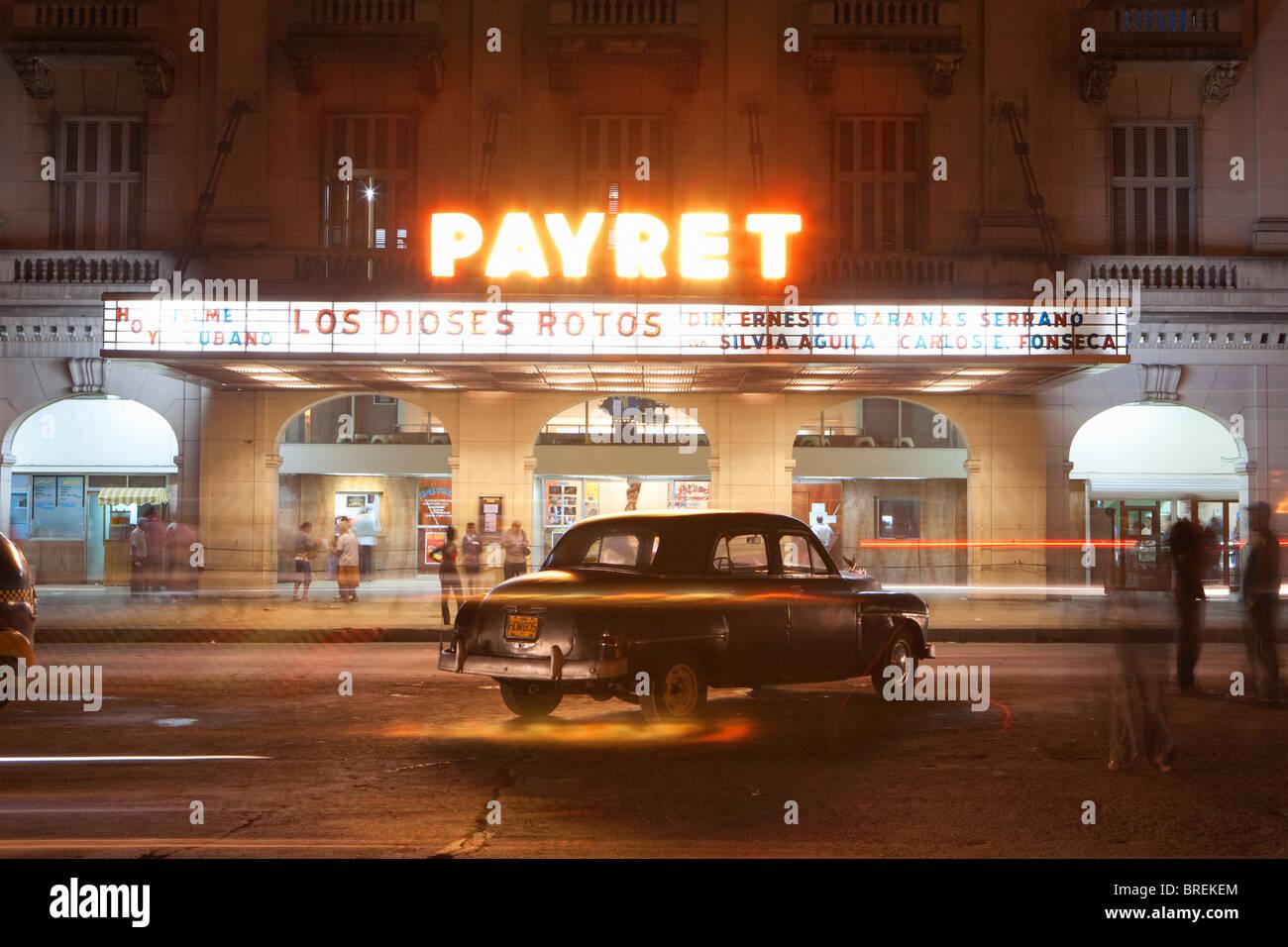 CENTRO HABANA: CINEMA PAYRET Immagini Stock
