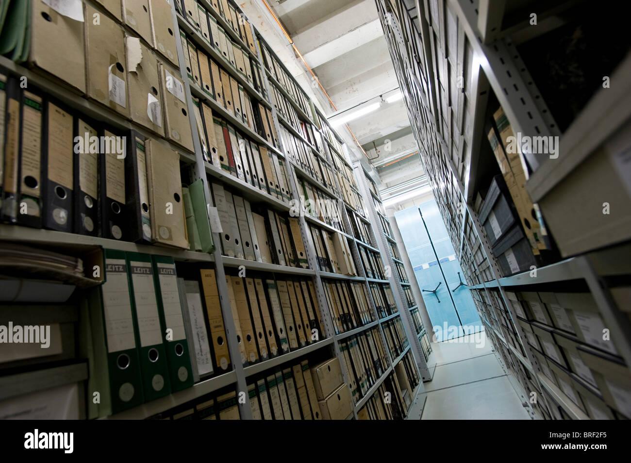 Archivio del Deutsches Technikmuseum, Museo Tedesco della Tecnologia, Berlino, Germania, Europa Immagini Stock
