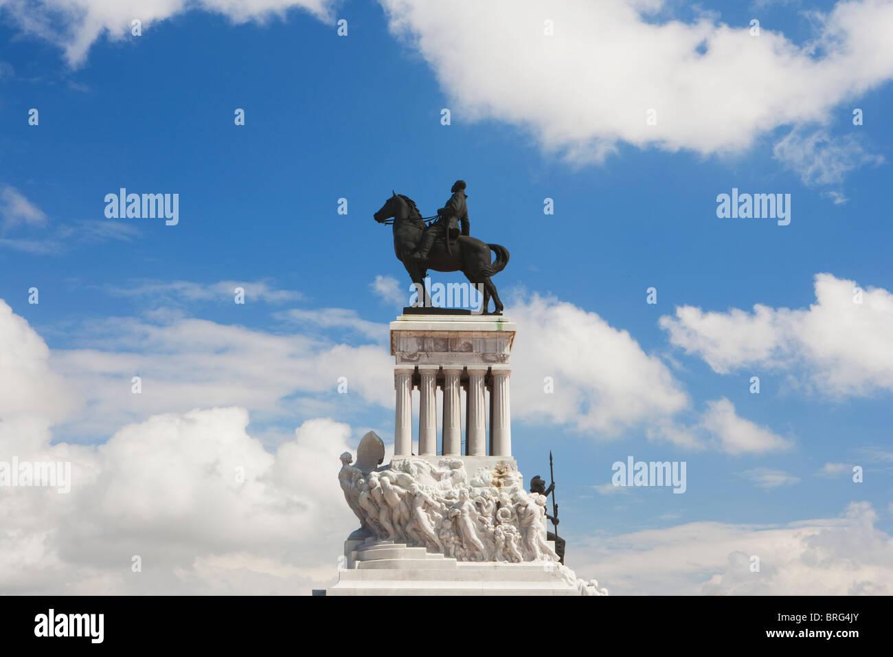 L'Avana: MONUMENTO A MAXIMO GOMEZ Immagini Stock