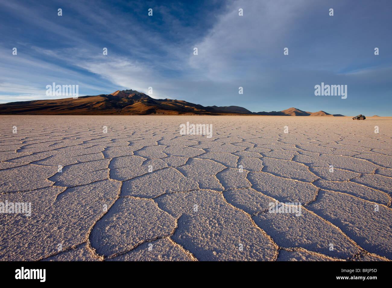 Il Salar de Uyuni, Bolivia Immagini Stock