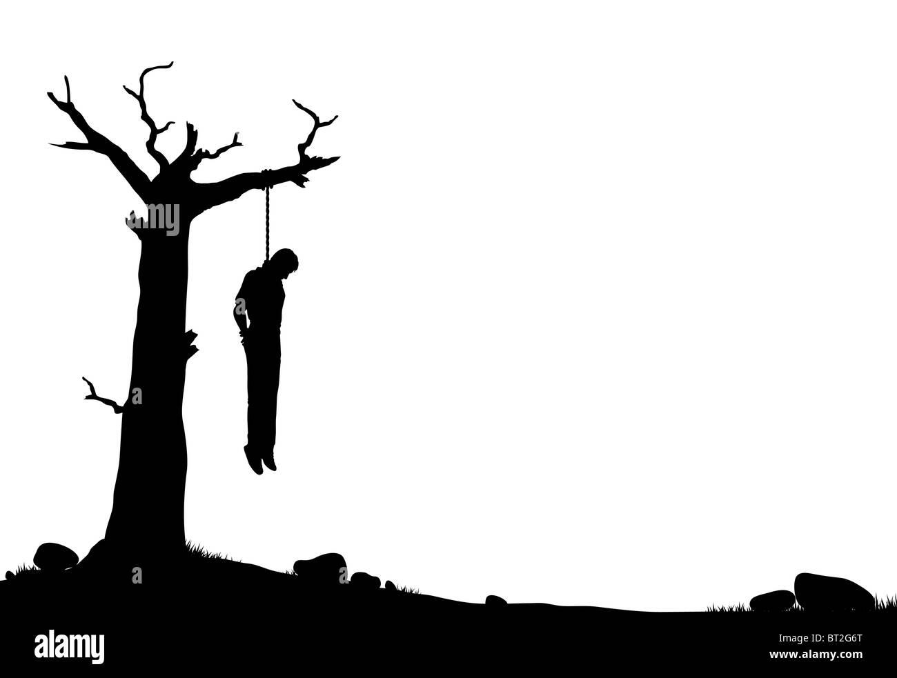 impiccato da