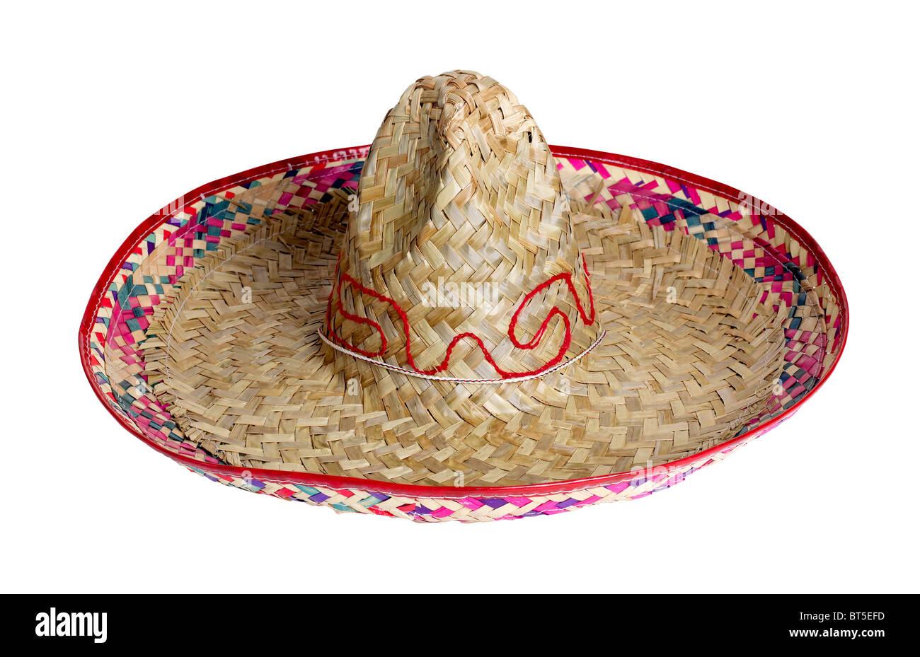 Sombrero messicani Messico cappello di paglia ombra coperchio della testata la protezione solare danza celebrare Immagini Stock