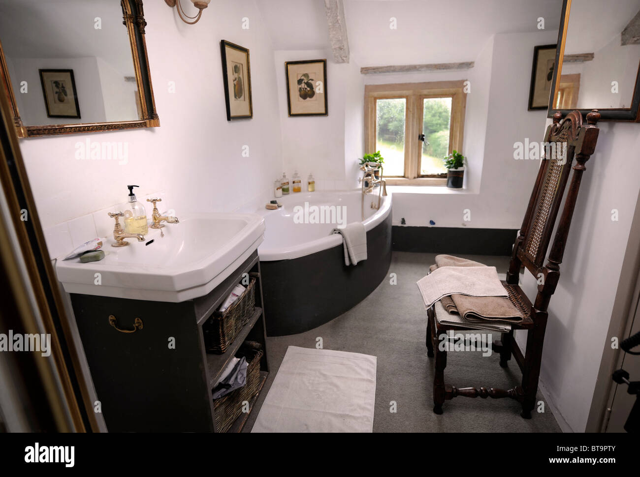 Sala Da Bagno Stile Contemporaneo : Bagno somerset immagini & bagno somerset fotos stock alamy
