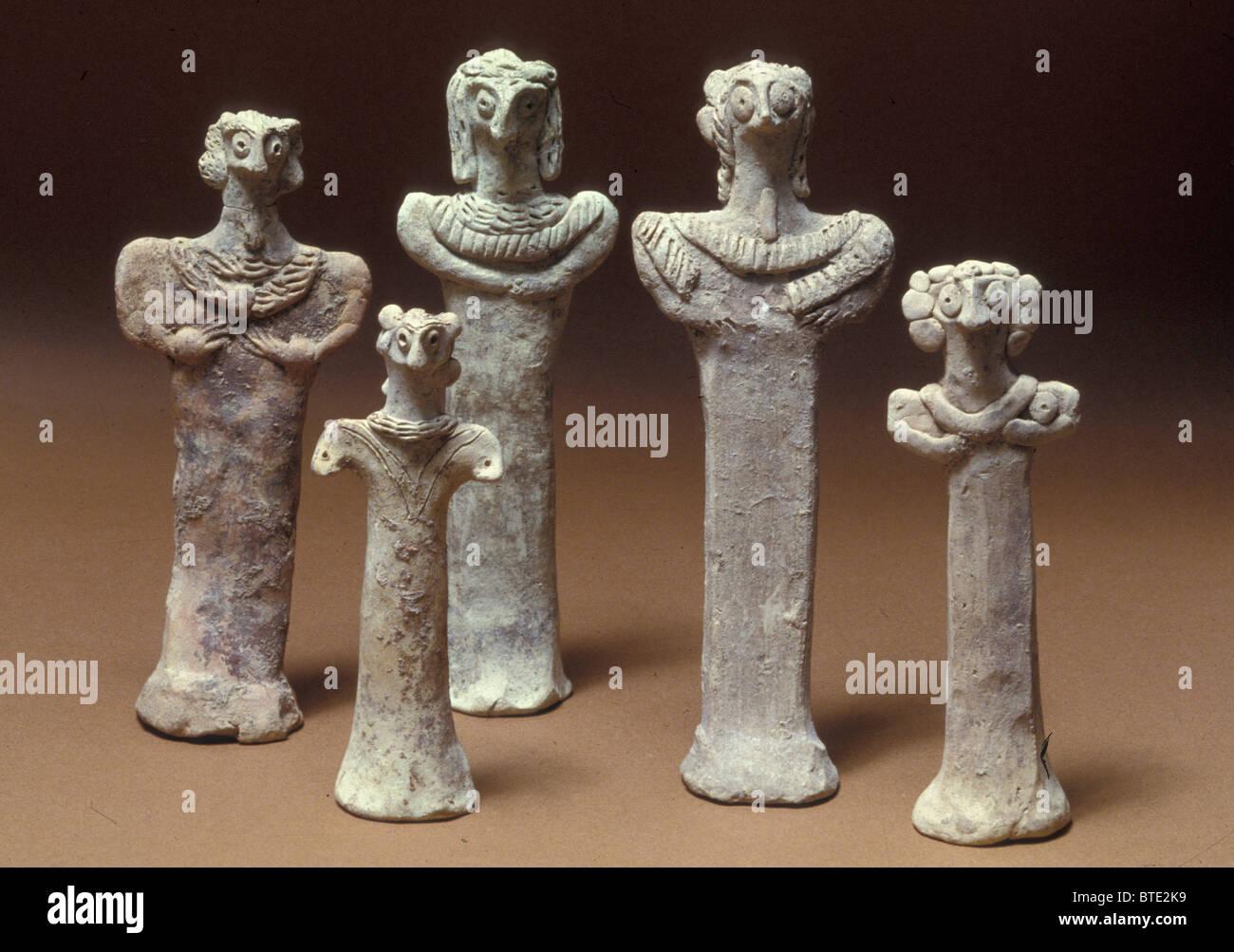 5467- Rachele aveva rubato le immagini degli idoli che appartenevano al padre... Ora Rachele aveva preso le immagini Immagini Stock