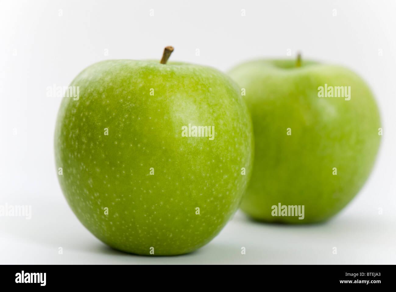 Mele verdi Foto Stock