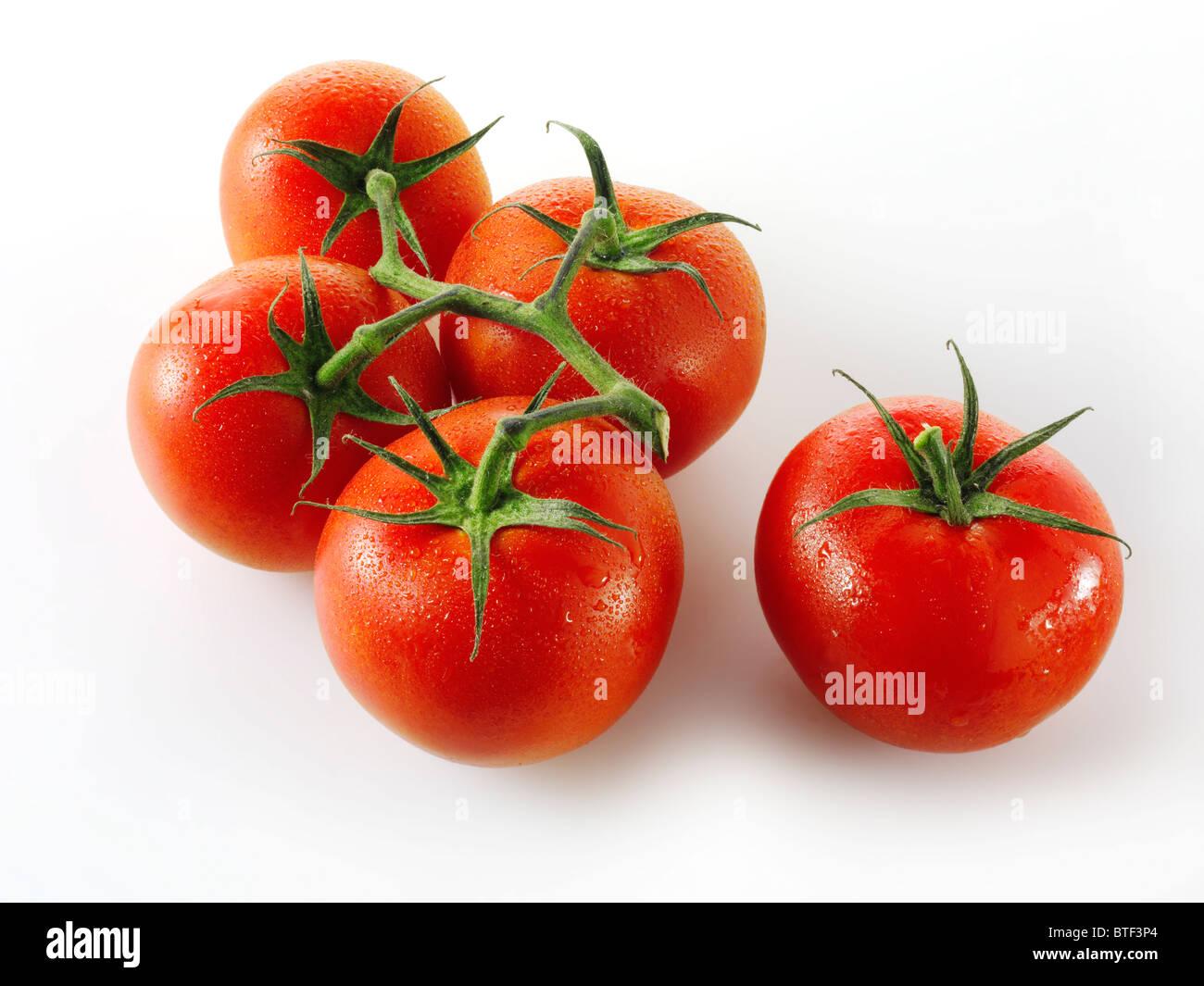 Giubileo pomodori a grappolo Immagini Stock