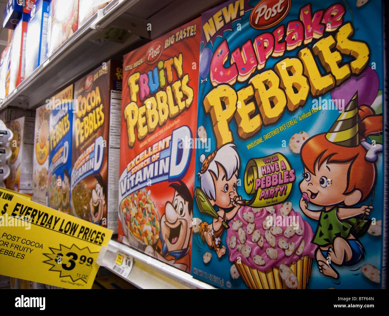 Le caselle di posta di cereali per la prima colazione con i