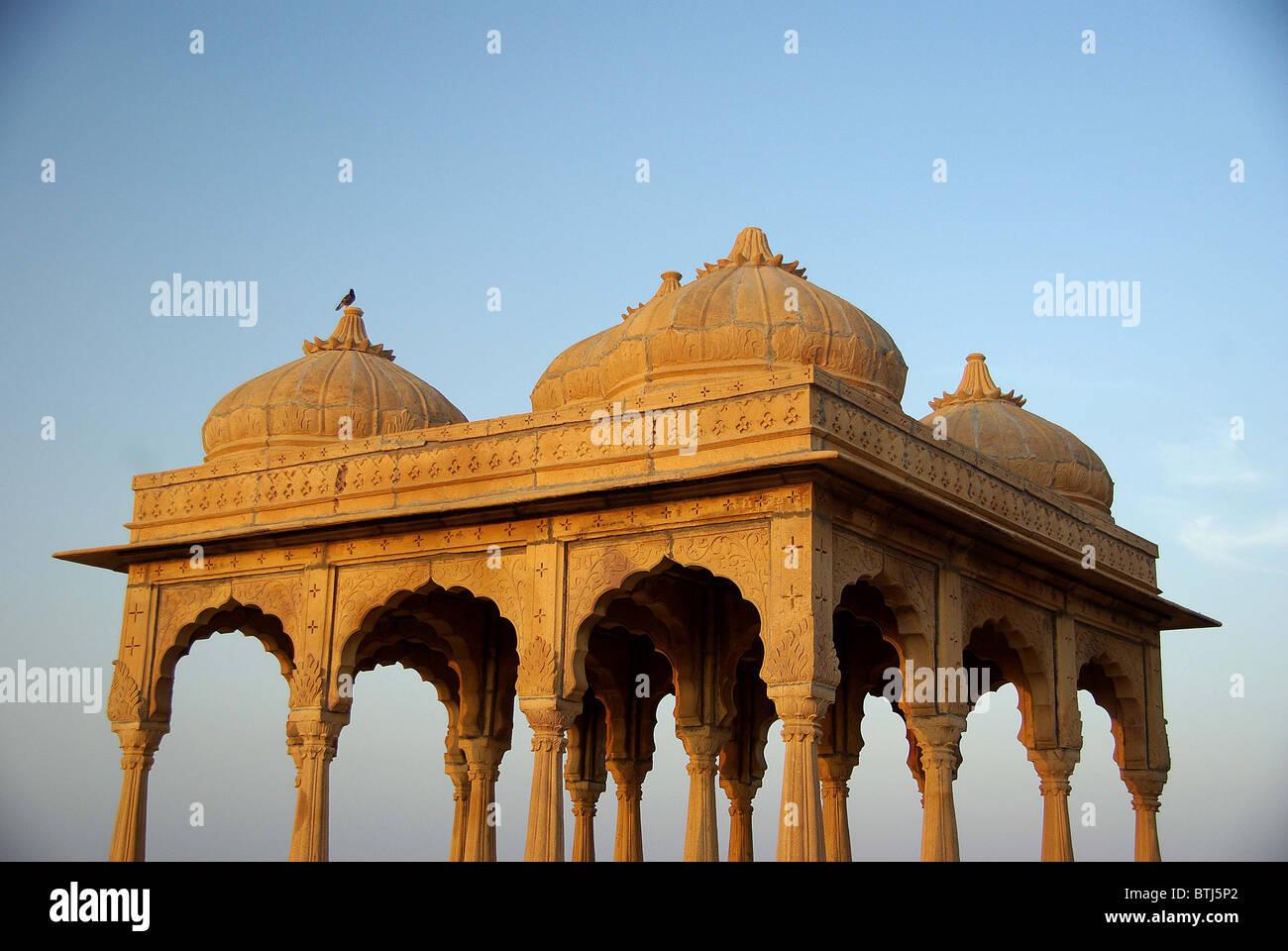 Rajput tomba nel Rajasthan, India Immagini Stock