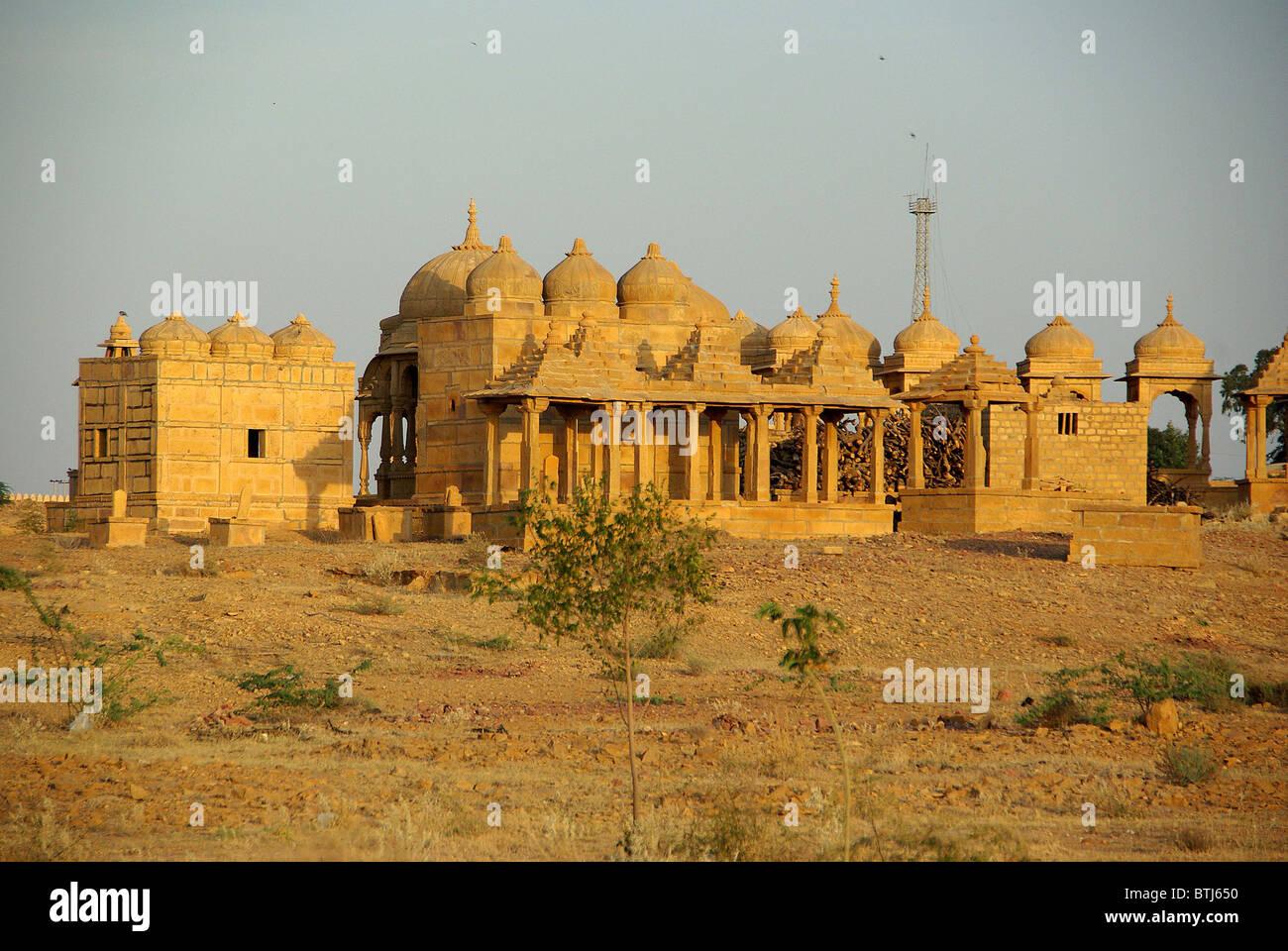Rajput tombe nel Rajasthan, India Immagini Stock