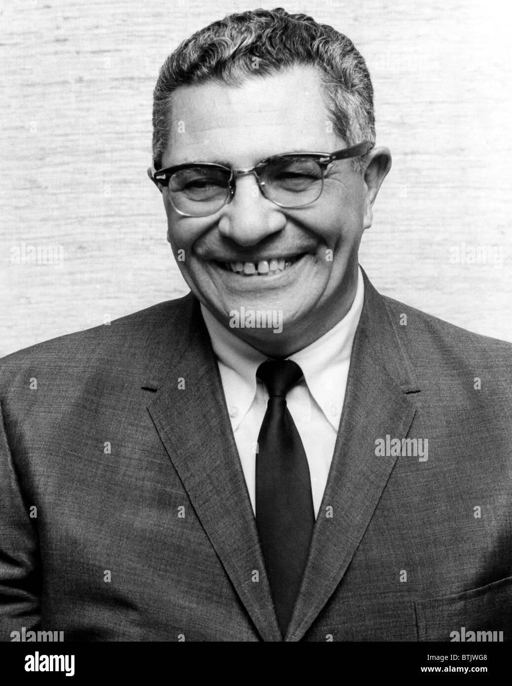 Vince Lombardi, (1913-1970), direttore generale di Green Bay Packers e una delle più riuscite vetture di testa Immagini Stock