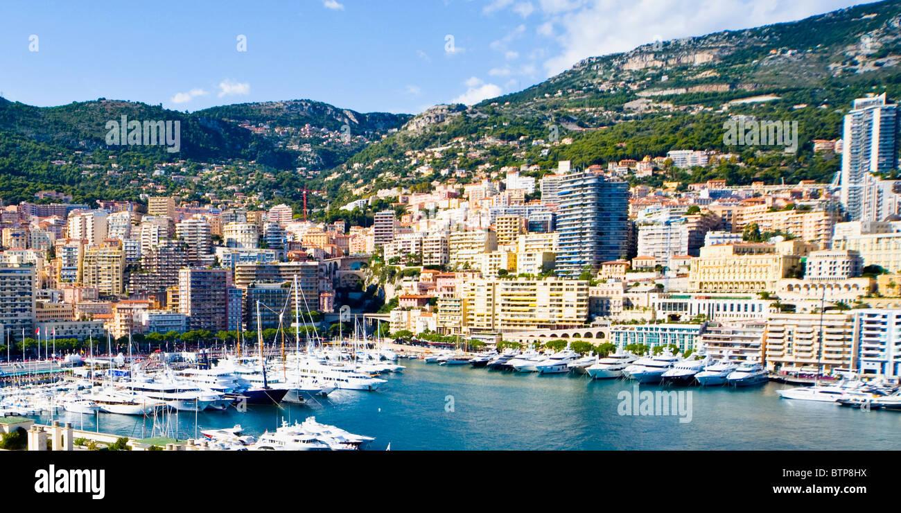 La Condamine, porto di Monaco, Monaco Immagini Stock