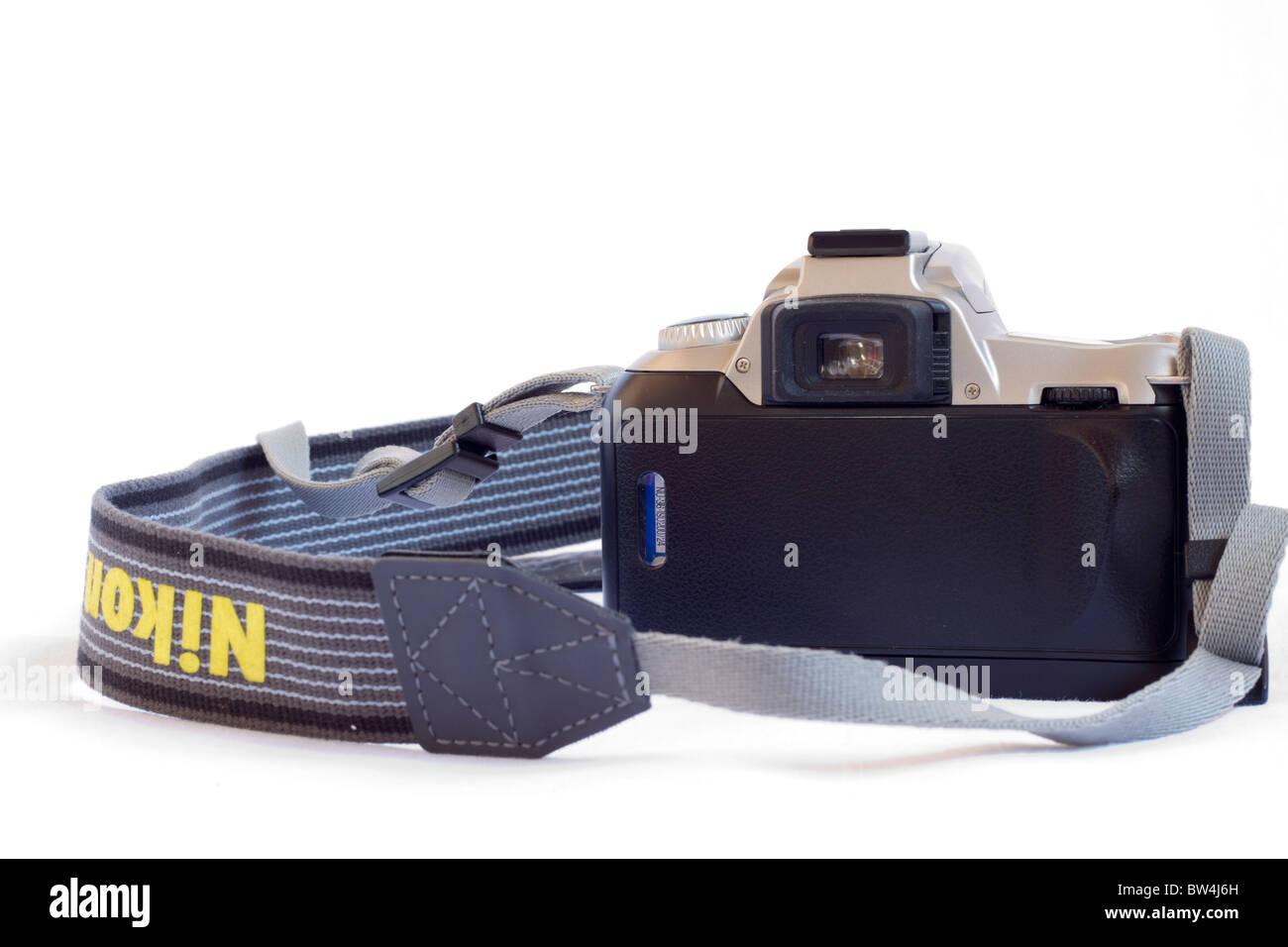 Nikon F50 analog foto Immagini Stock