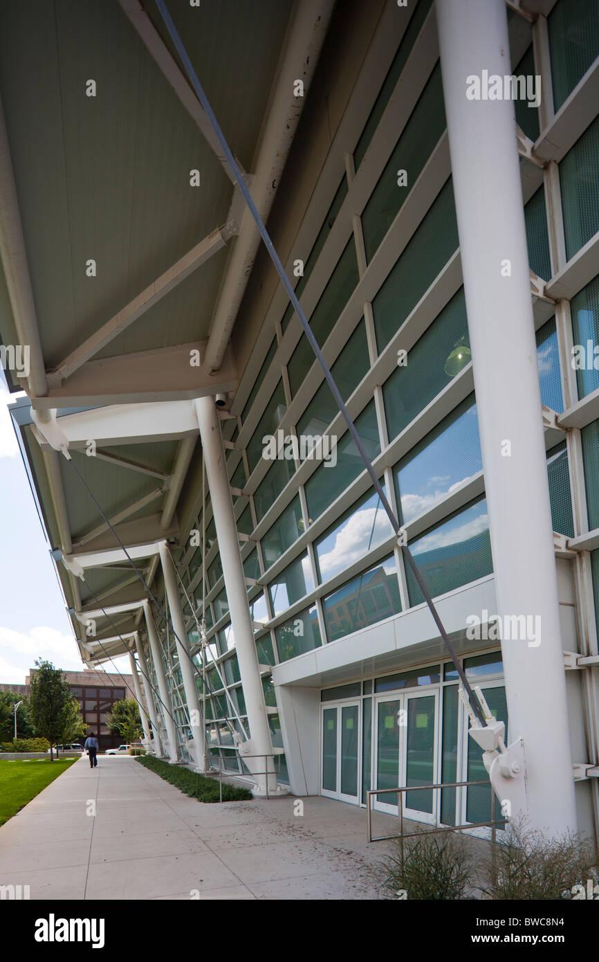 Gerald Ratner centro atletico, università di Chicago Immagini Stock