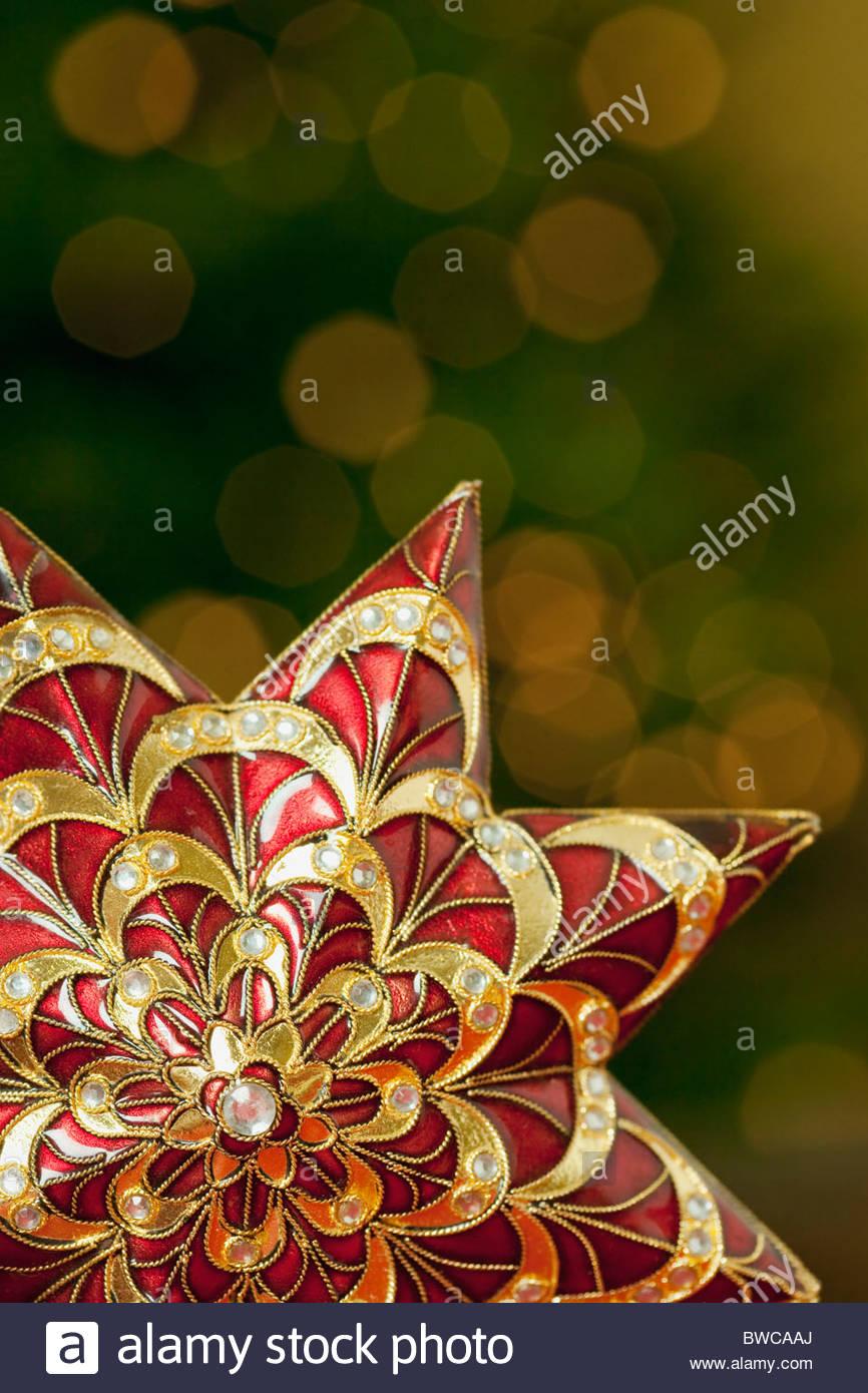Stati Uniti, California, La Quinta, decorazione di Natale Immagini Stock