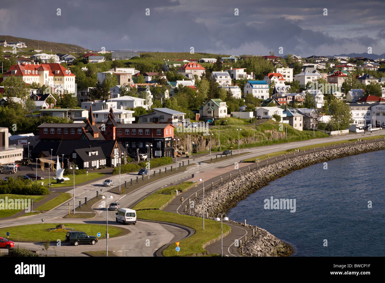 Viking houses immagini viking houses fotos stock alamy for Casa tradizionale islandese