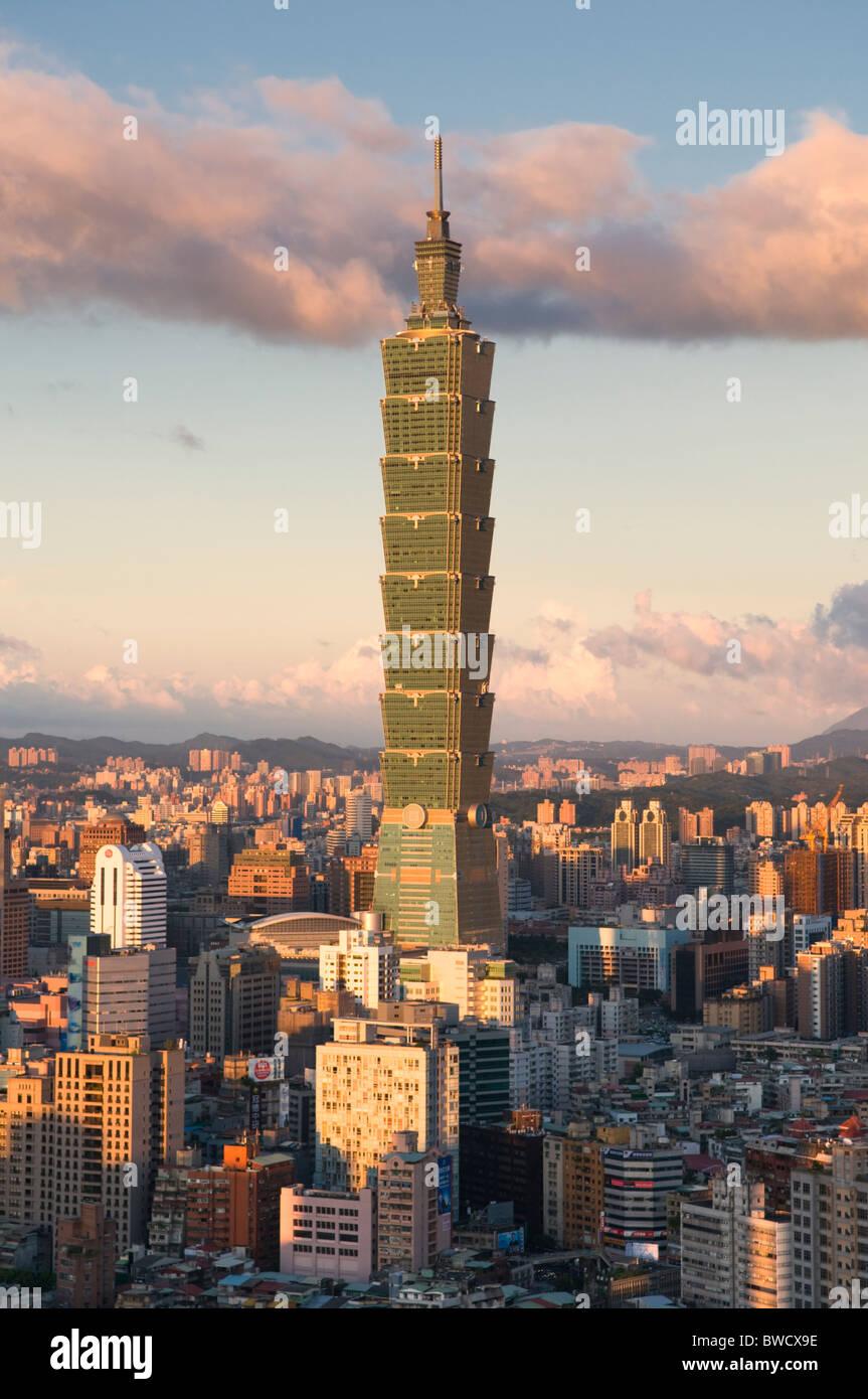 Taipei 101 Taipei Taiwan Immagini Stock