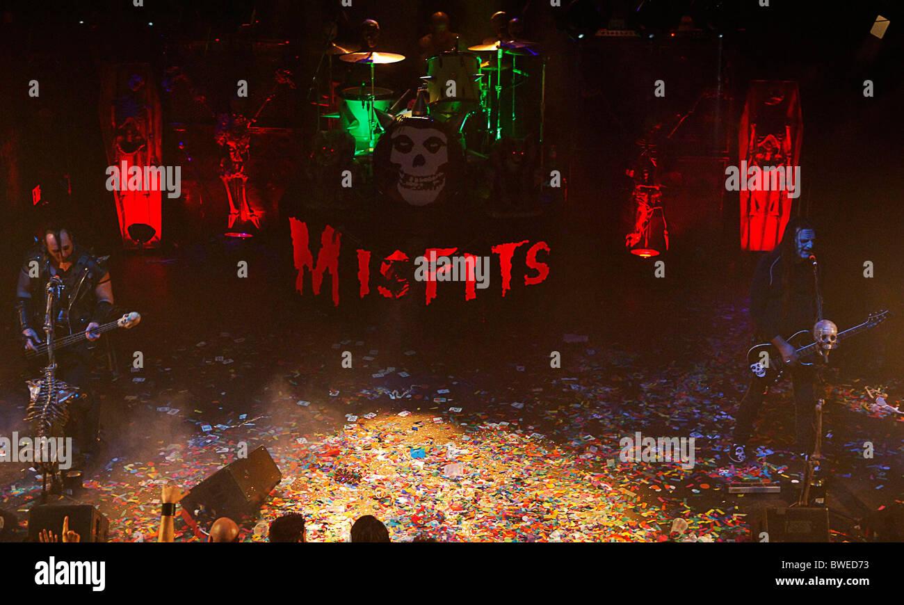 Fiend Fest con Misfits & tossicodipendenti Foto Stock